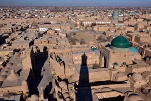 City Khiva Uzbekistan