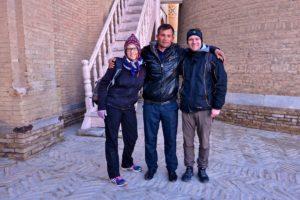 Selfie in Uzbekistan