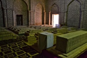 mausoleum Sultan Saoda in Termez Uzbekistan