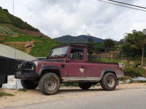 Landrover in Malaysia Cameron Highland