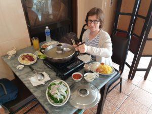 Saskia Hohe Malaysian Steamboat fondue - Malaysia Travel Tips