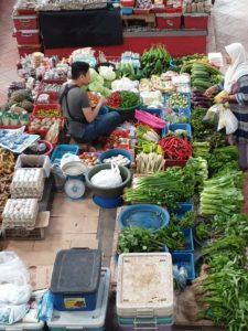 Central market in Kota Bharu - Malaysia Travel Tips