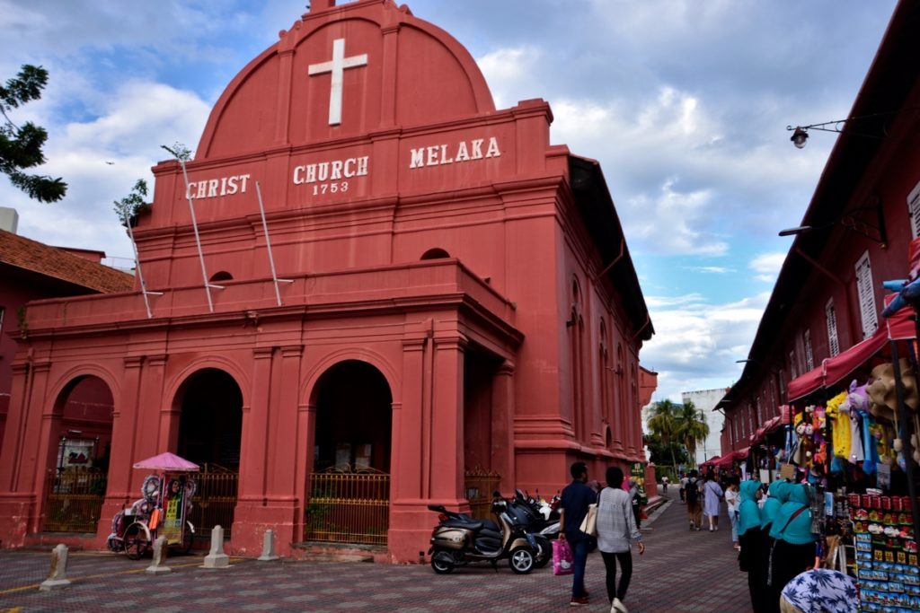 UNESCO Melaka Christ Church - Malaysia Travel Tips