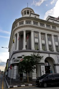 Bank building in Ipoh Malaysia - Malaysia Travel Tips
