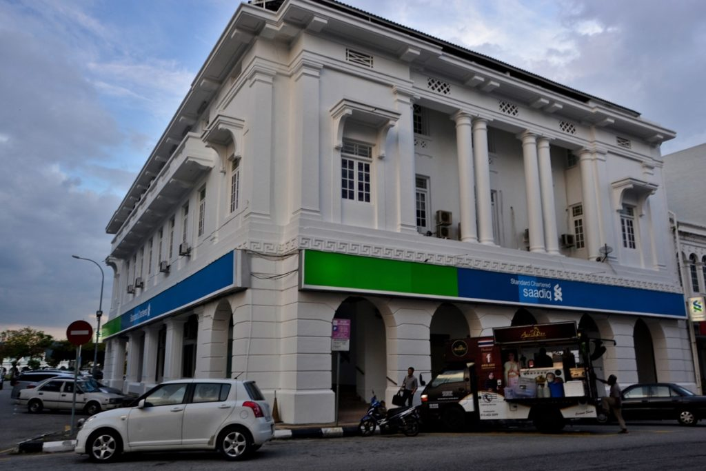 Standard Chartered Bank in Ipoh Malaysia