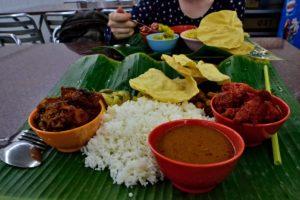 Indian food in Malaysia
