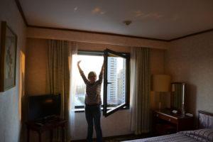 Saskia Hohe in Koryo Hotel Pyongyang