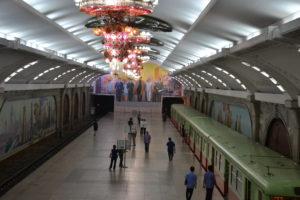 Pyongyang Metro DPRK North Korea