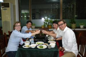 Saskia Hohe Duch BBQ North Korea DPRK