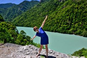 Saskia Hohe Kutaisi to Mestia Drive landscape Georgia - Travel tips for Georgia