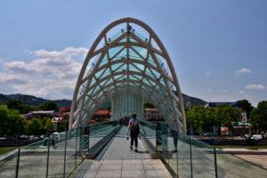 Bridge of Peace Tbilisi Georgia