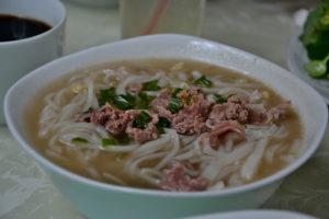 Pho Soup Ho-Chi-Minh-City / Saigon in the restaurant where Bill Clinton