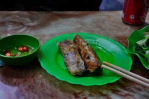nem spring rolls Vietnam Bun Cha Vietnam vietnamesisches dish essen