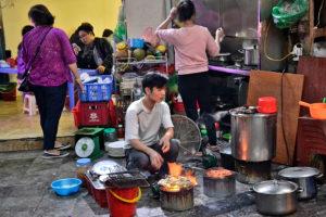 Street Food in Hanoi vietnam