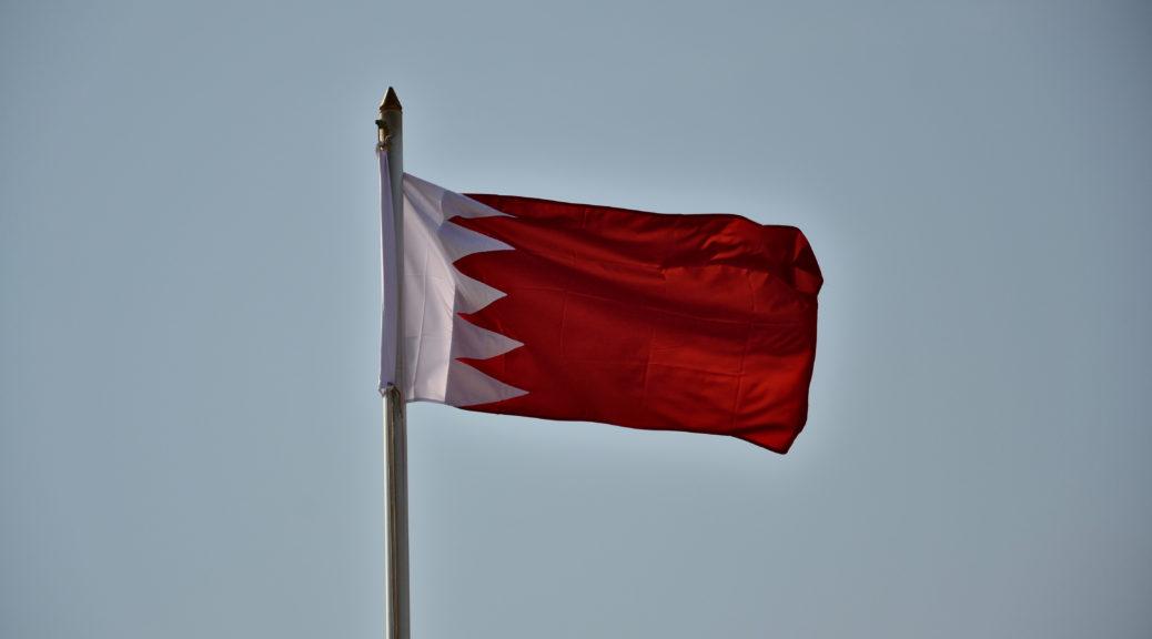 Flagge Bahrain flag