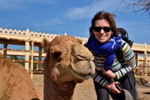 Saskia Hohe royal camel farm Bahrain