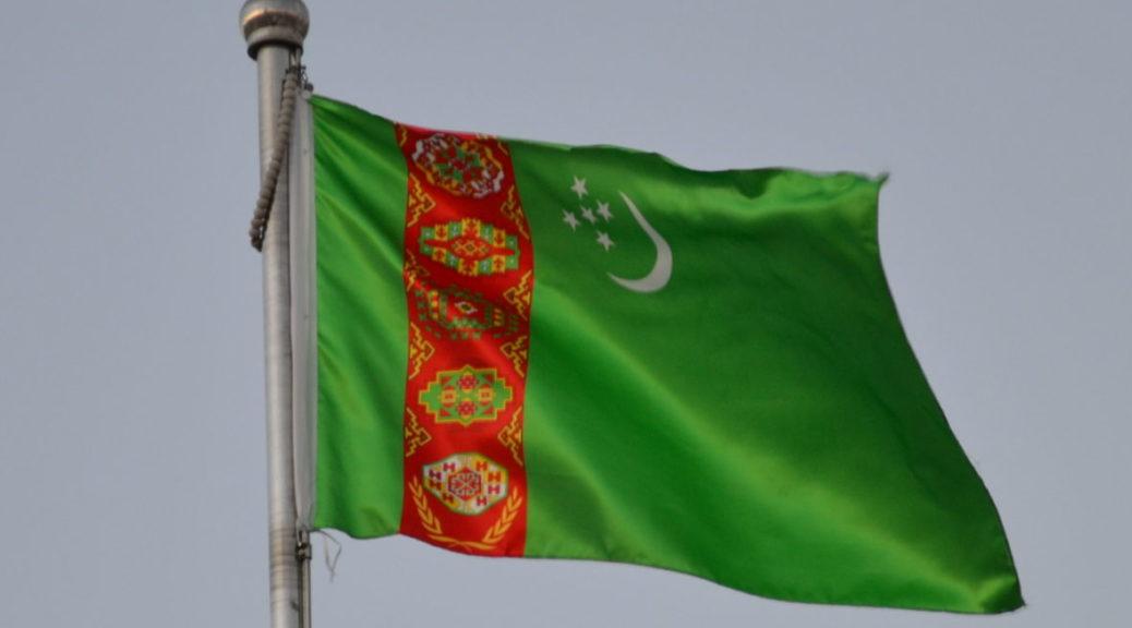 Turkmenistan flag flagge