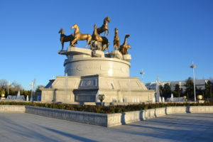 Ashgabat turkmenistan Government area - Turkmenistan Travel Tips