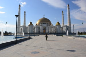 Turkmenbashi Ruhy Mosque Ashgabat Turkmenistan