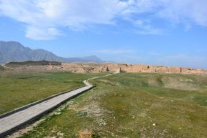 Nisa fortress Turkmenistan UNESCO world Heritage