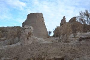 Izmukshir Shassenem fortress Turkmenistan