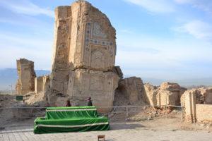 Anau mosque Turkmenistan