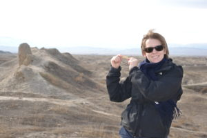 Saskia Hohe Abiverd medieval fortress Turkmenistan