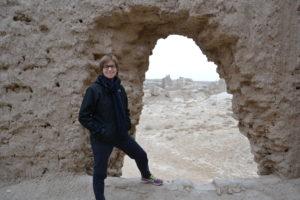 Saskia Hohe Merv UNESCO World Heritage Turkmenistan - Turkmenistan Travel Tips