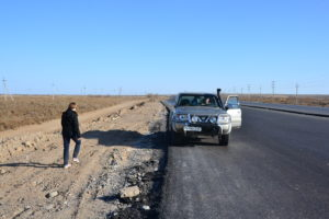 Driver in Turkmenistan - Turkmenistan Travel Tips